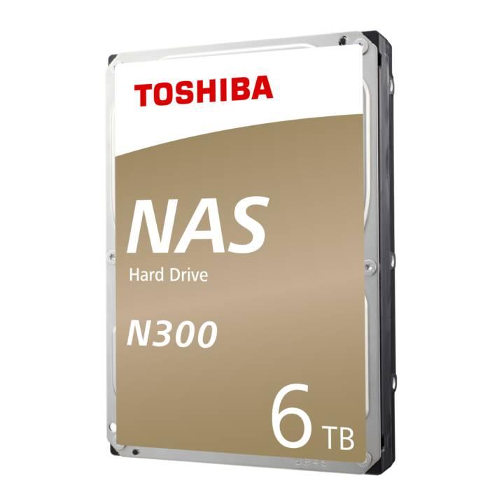 TOSHIBA NAS N300 BULK (SATA, 6 TB)
