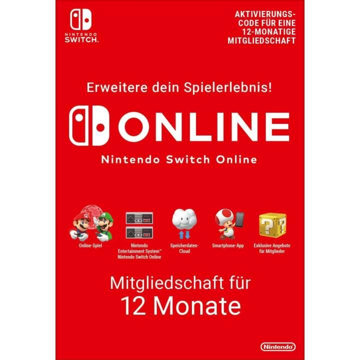 Nintendo Online 12 Mois (PKC)