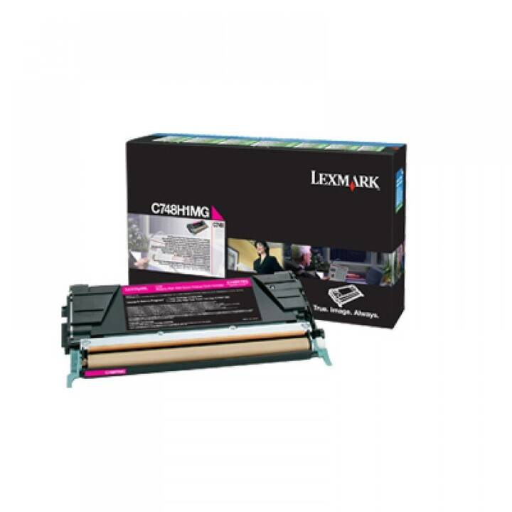 LEXMARK C748H1MG (Toner seperato, Magenta)