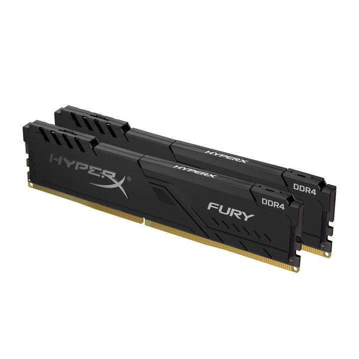 HYPERX FURY (2 x 16 Go, DDR4-SDRAM, DIMM 288-Pin)