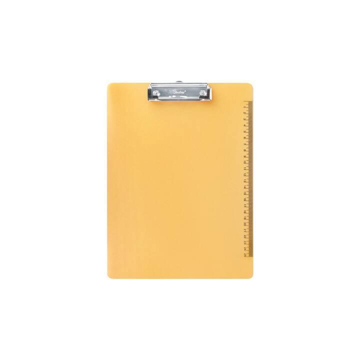 BÜROLINE porte-bloc A4 jaune