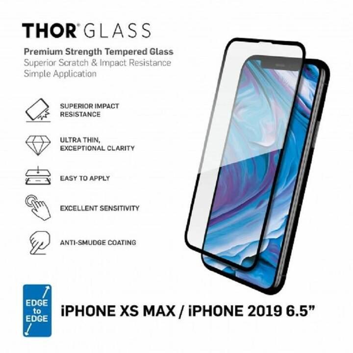 THOR Film de protection d'écran Fullscreen (Cristallin, iPhone 11 Pro Max, iPhone XS Max)