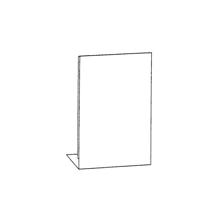 SEM Tischaufsteller, A6, Transparent