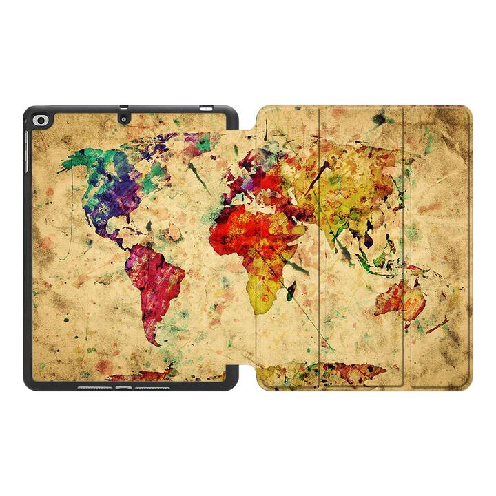 """EG MTT Coque pour Apple iPad Air 3 2019 10.5"""" - Carte"""