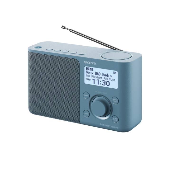 SONY XDR-S61DL Digitalradio (Blau)