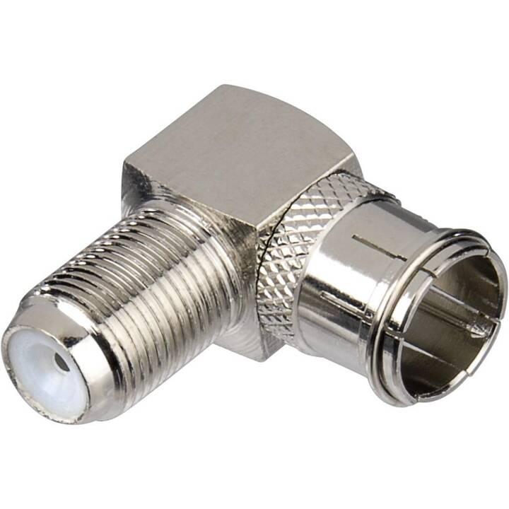 HAMA SAT Adapter (Silber)