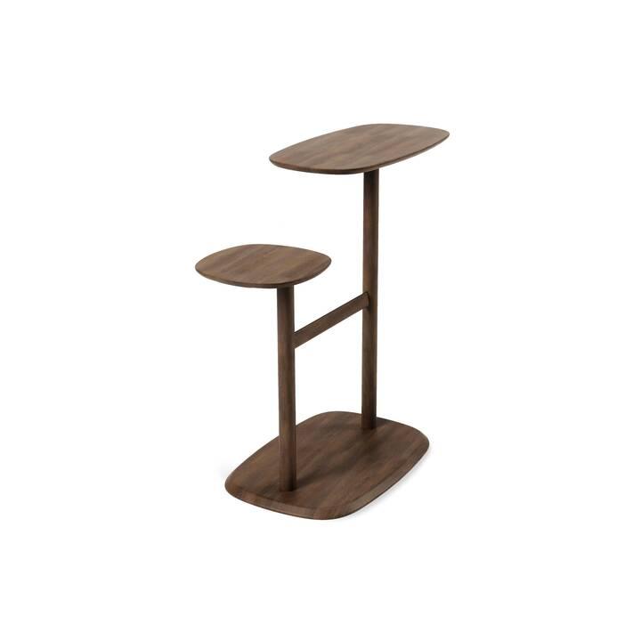 UMBRA Tavolino Swivo (75 cm, Marrone scuro)