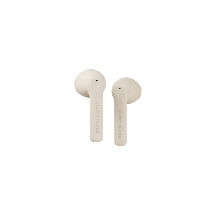 HAPPY PLUGS Air 1 Go (In-Ear, Bluetooth 5.0, Nude)