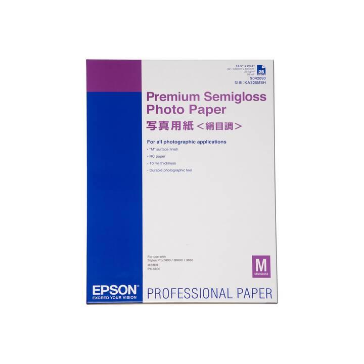 EPSON Premium Carta fotografica (A2, 25 foglio)