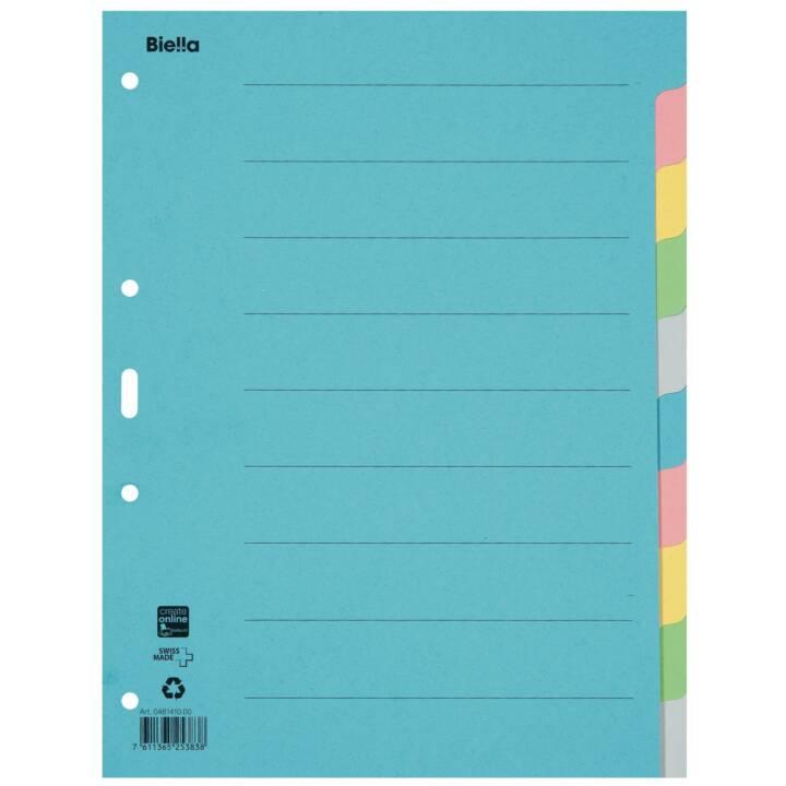 BIELLA Register A4 Karton 10-teilig