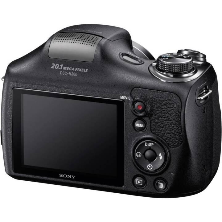 SONY Cyber-shot DSC-H300, Noir