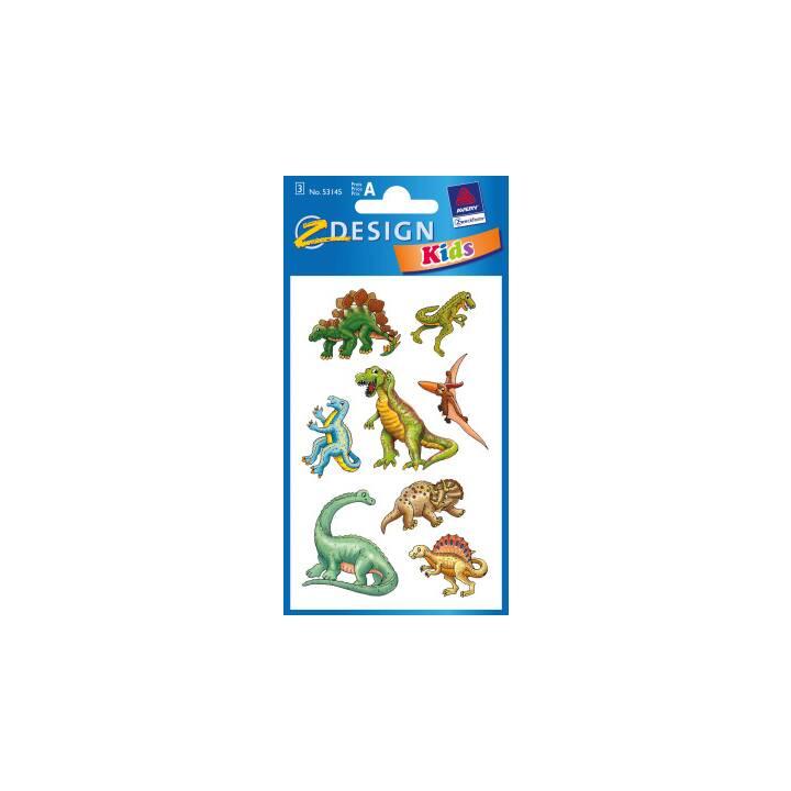 Z-DESIGN Sticker Kids Motiv 3 Stück