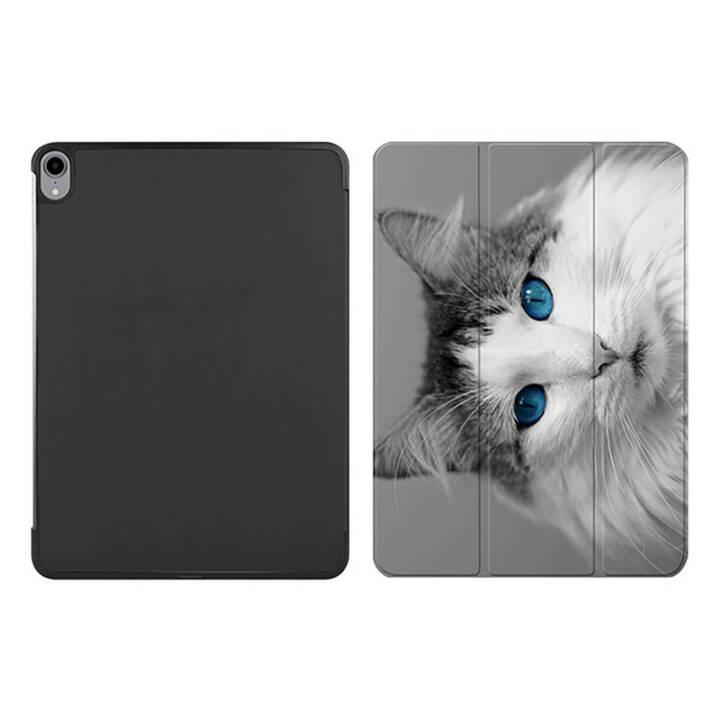 """EG MTT iPad Hülle für Apple iPad Pro 2018 11"""" - Katze"""