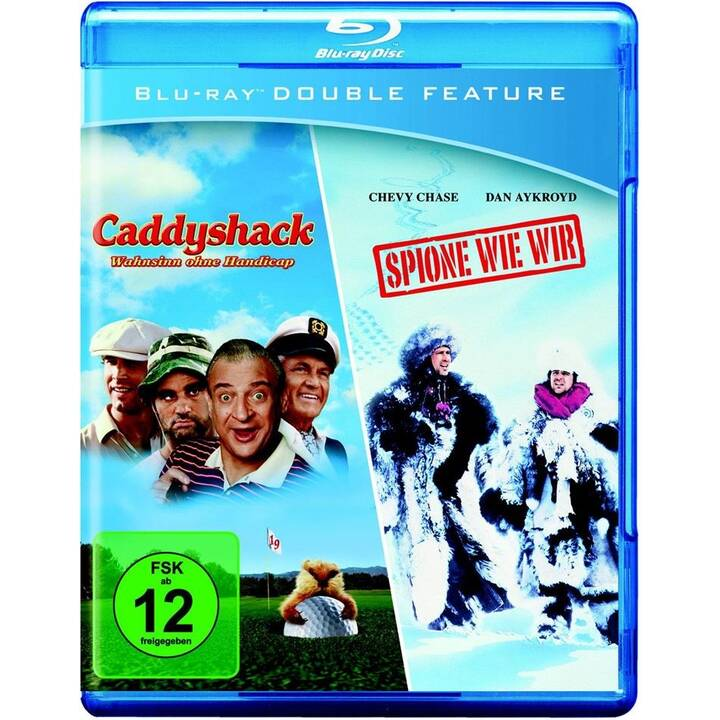 Caddyshack - Wahnsinn ohne Handicap / Spione wie wir (ES, DE, EN, FR)