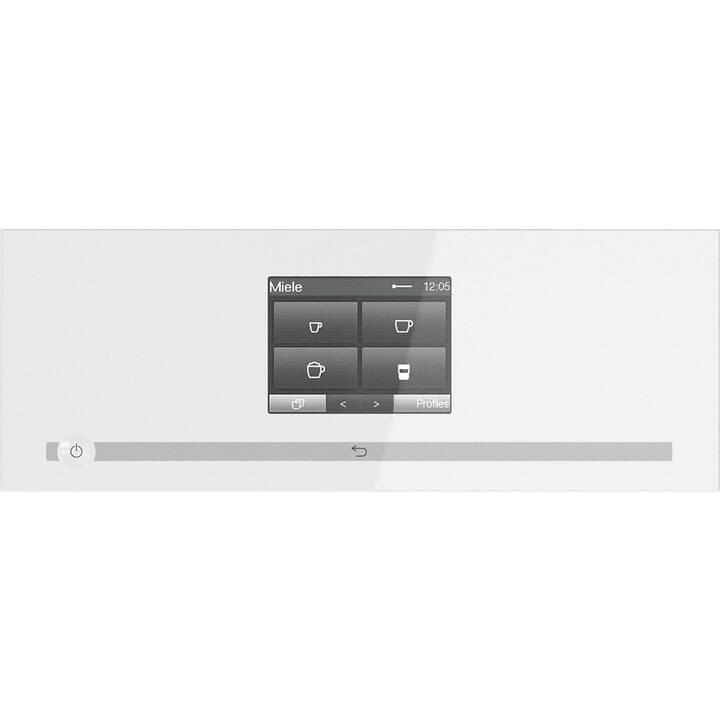 MIELE CM 7550 CH BW (Blanc, 2.2 l, Machines à café automatique)