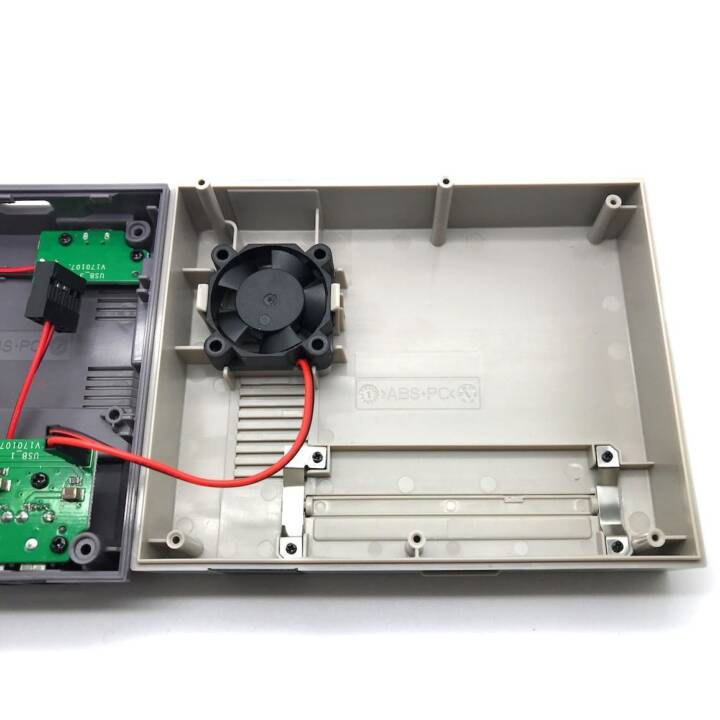 SERTRONICA Custodia ventilatore 30x30x30x10mm, 2Pin, 5Volt