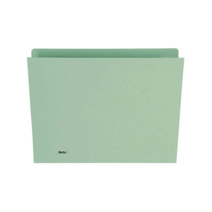 BIELLA Plieuse verticale A4 verte 100 pièces