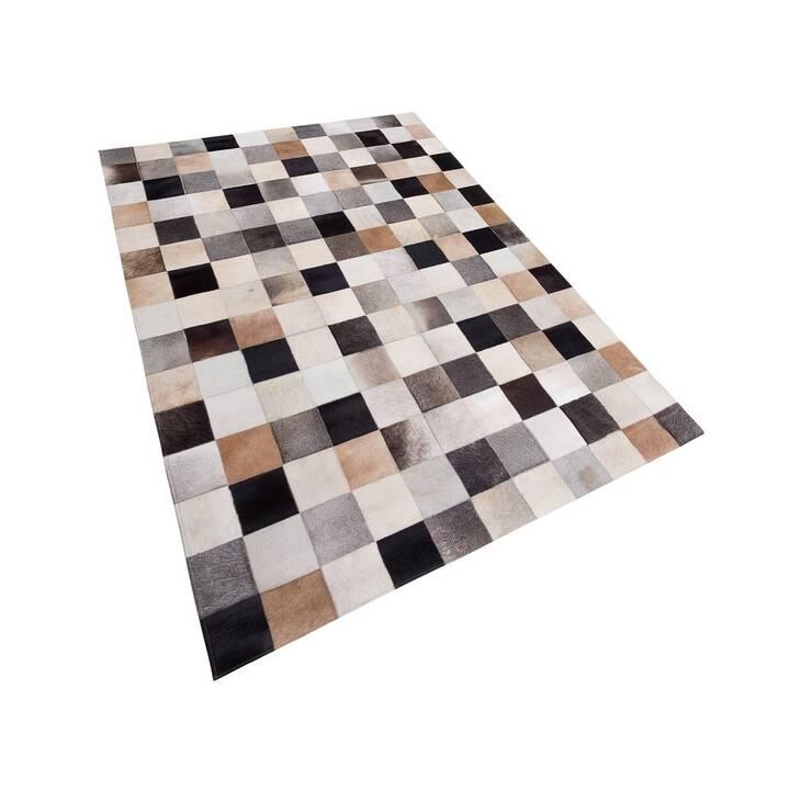 BELIANI Teppich SOKE (200 cm x 300 cm, Braun, Beige, Grau)