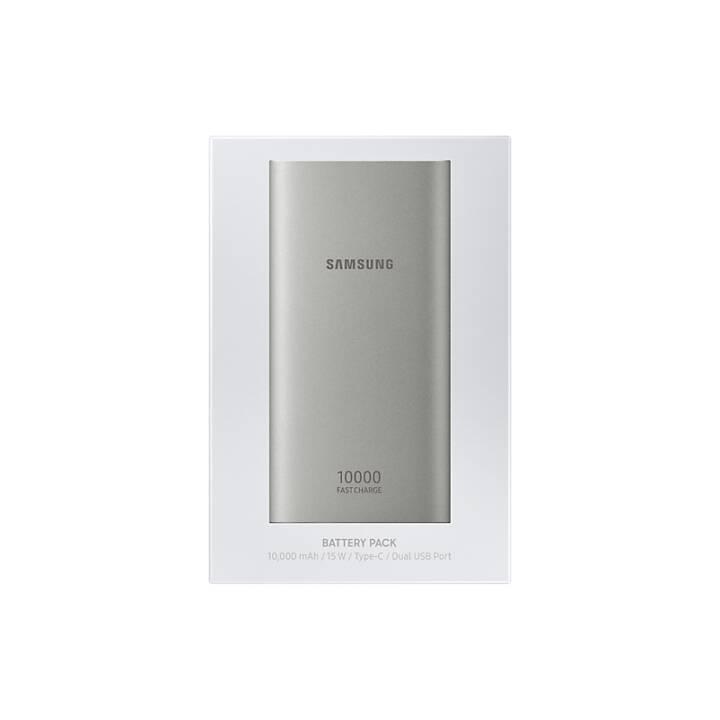 SAMSUNG EB-P1100C (10000 mAh, Silber)