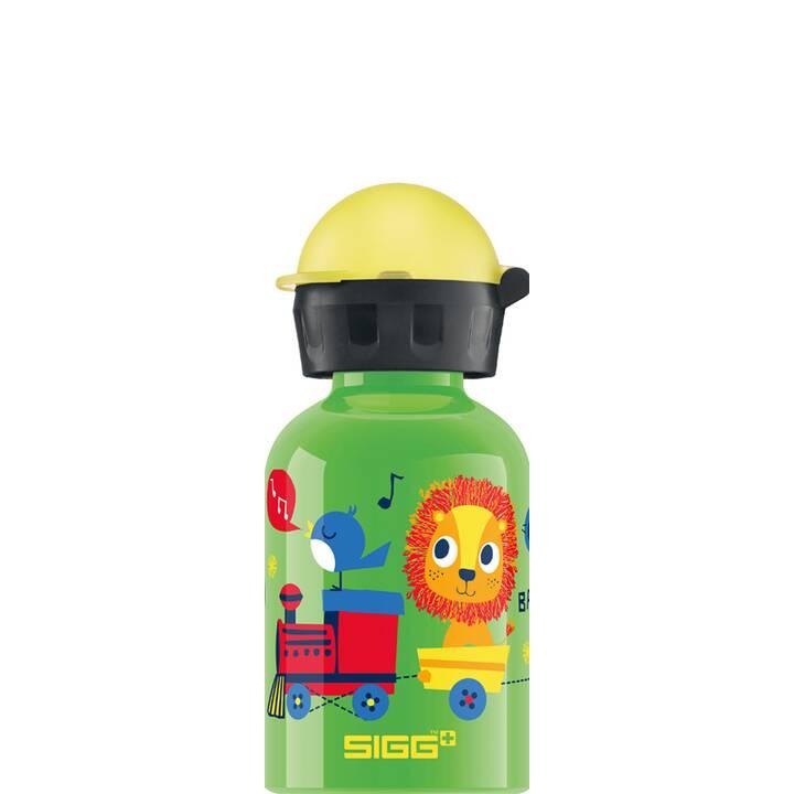 SIGG Kindertrinkflasche Jungle Train (0.3 l, Grün)