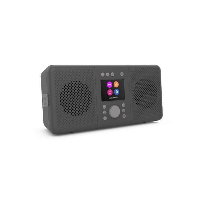 PURE Elan Connect+ Radios numériques (Charcoal black)