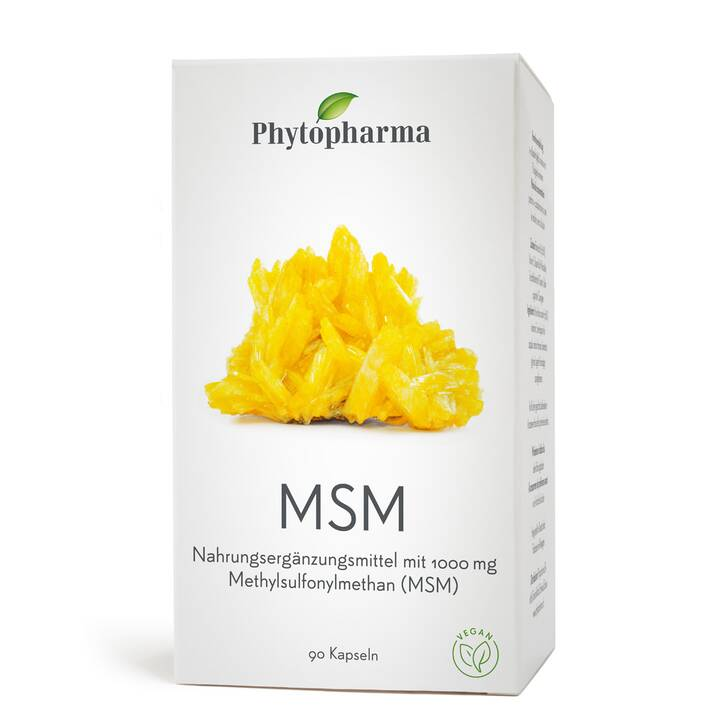 Phytopharma MSM Kaps 1000 mg Ds 90 Stk