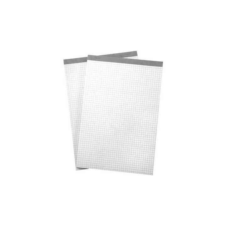 BÜROLINE A6 Plaid da 4 mm bianco