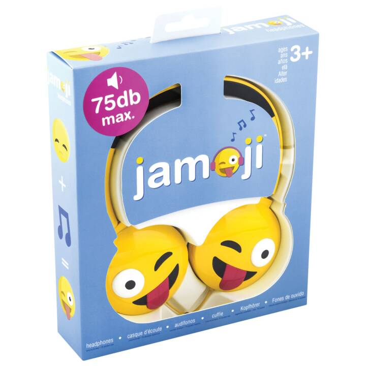 JAM AUDIO Jamoji Just Kidding On Ear