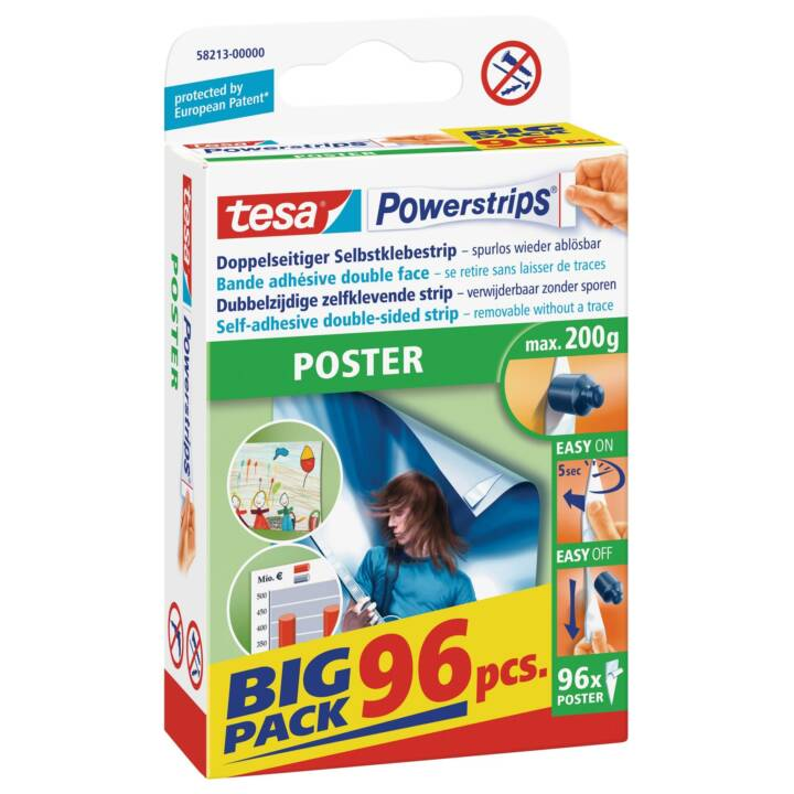 TESA SE Powerstrips Poster