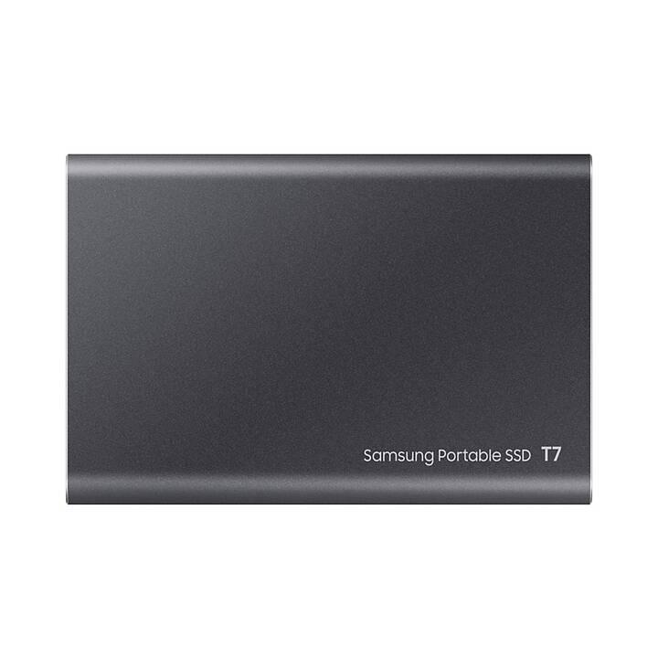 SAMSUNG Portable SSD T7  (USB Tipo C, 1000 GB, Grigio)