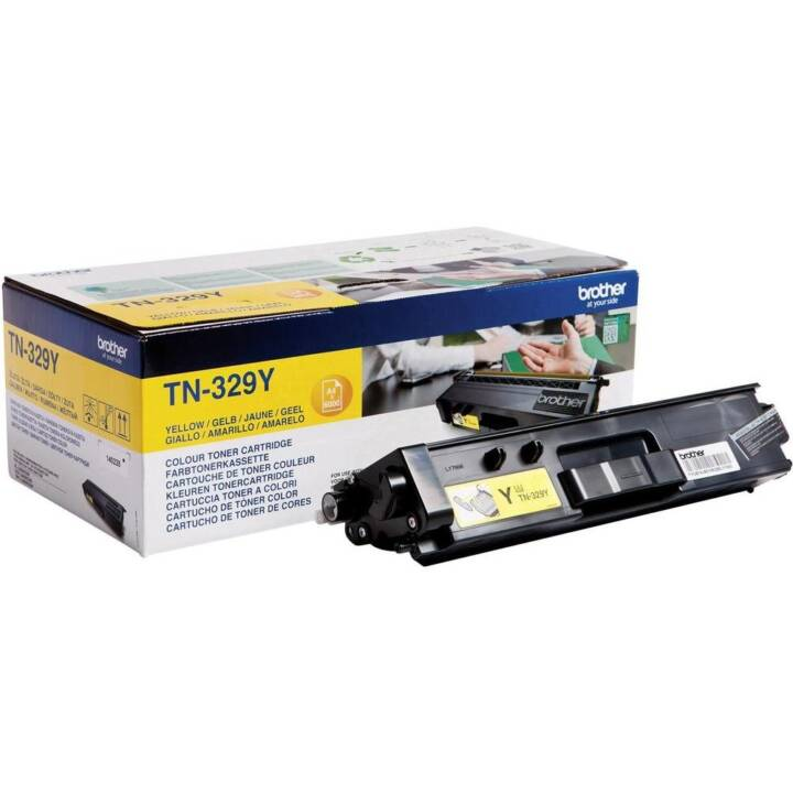 BROTHER TN-329Y (Toner seperato, Giallo)