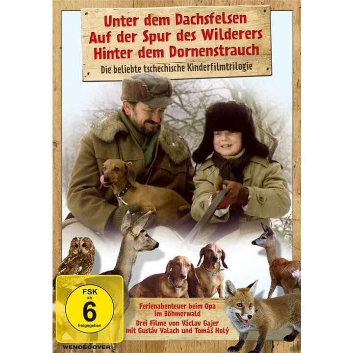 Unter dem Dachsfelsen / Auf der Spur des Wilderers / Hinter dem Dornenstrauch - Ferienabenteuer beim Opa im Böhmerwald (DE)