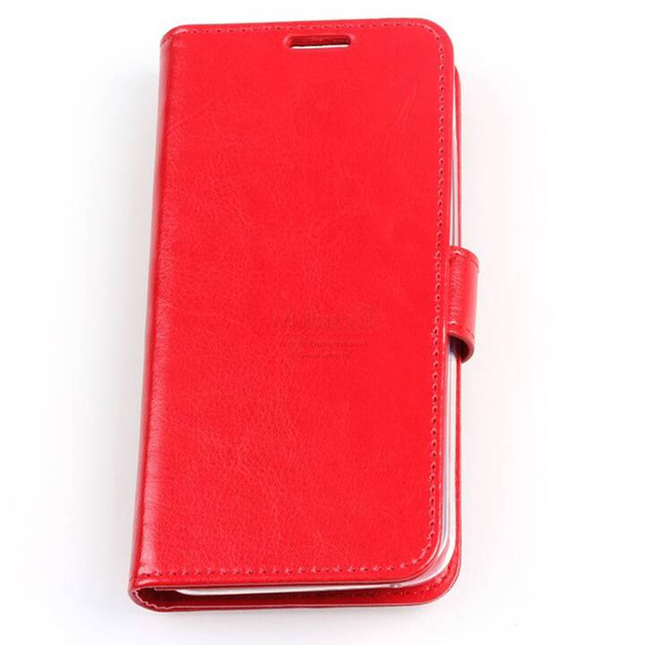 EG Mornrise Wallet Case fuer Samsung Galaxy S10 - Rot