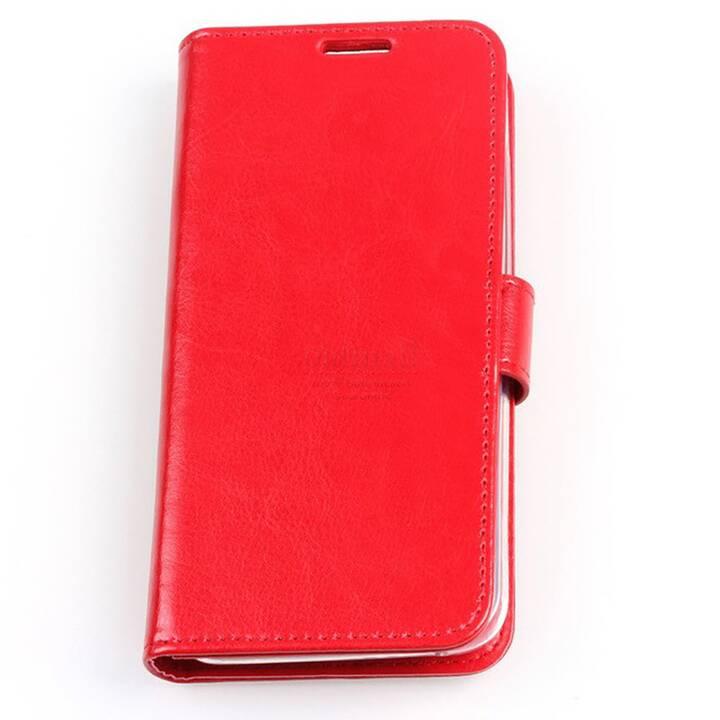 EG Mornrise Custodia a Portafoglio per Samsung Galaxy S10 Plus - Rossa