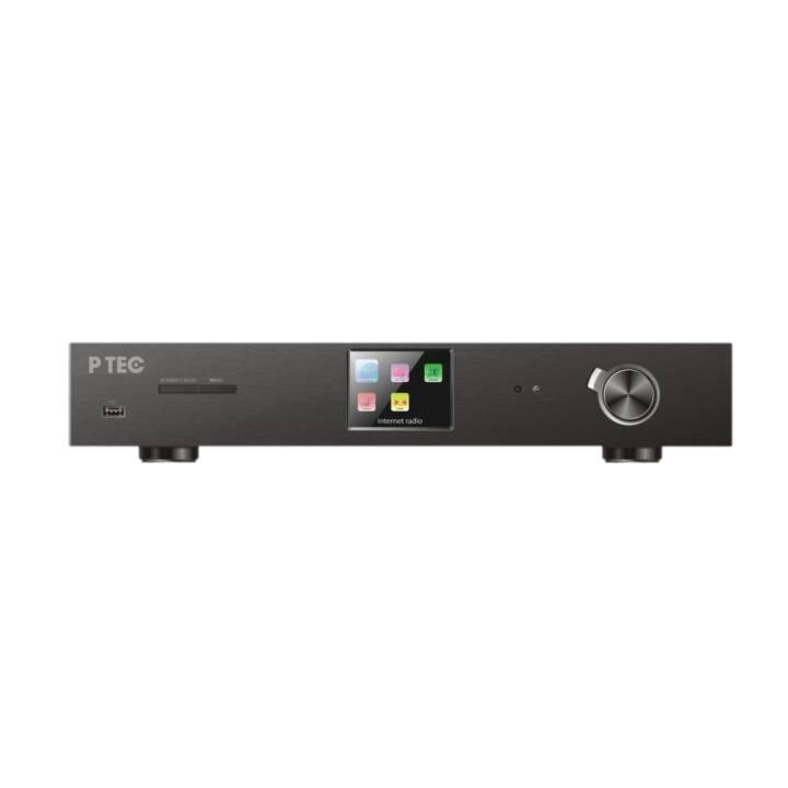 P TEC Castor (Amplificateur de stereo, Noir)