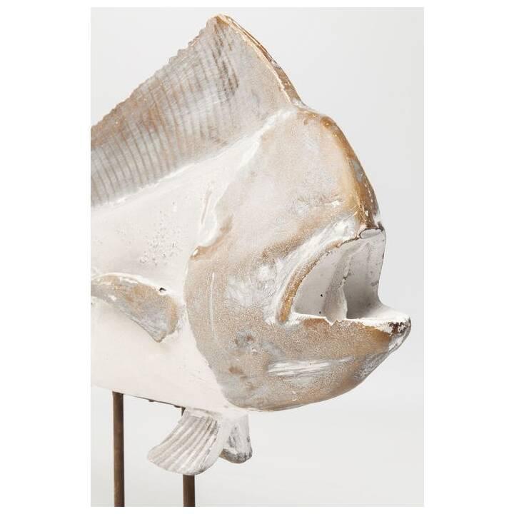 KARE Figure de décoration Pesce (Blanc)