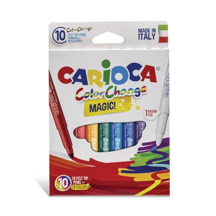 CARIOCA Fibre pen Changement de couleur
