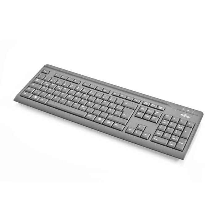FUJITSU KB410 (USB, USA, Câble)