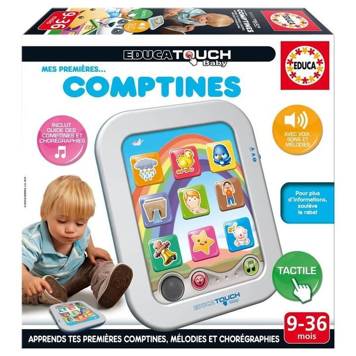 EDUCA Tablettes pour enfant Mes premières comptines (FR)