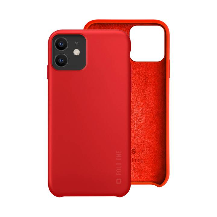SBS Backcover Polo One (iPhone 11, Rot)