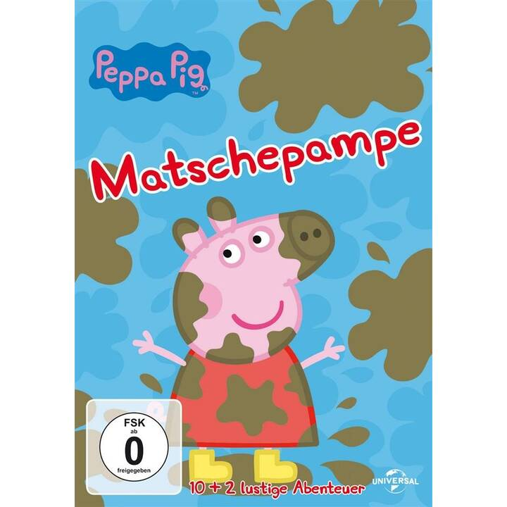 Peppa Pig - Vol. 4 - Matschepampe (DE, EN)