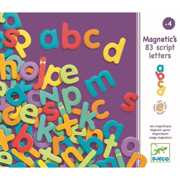 DJECO Jouets d'éveil et d'apprentissage Script Letters
