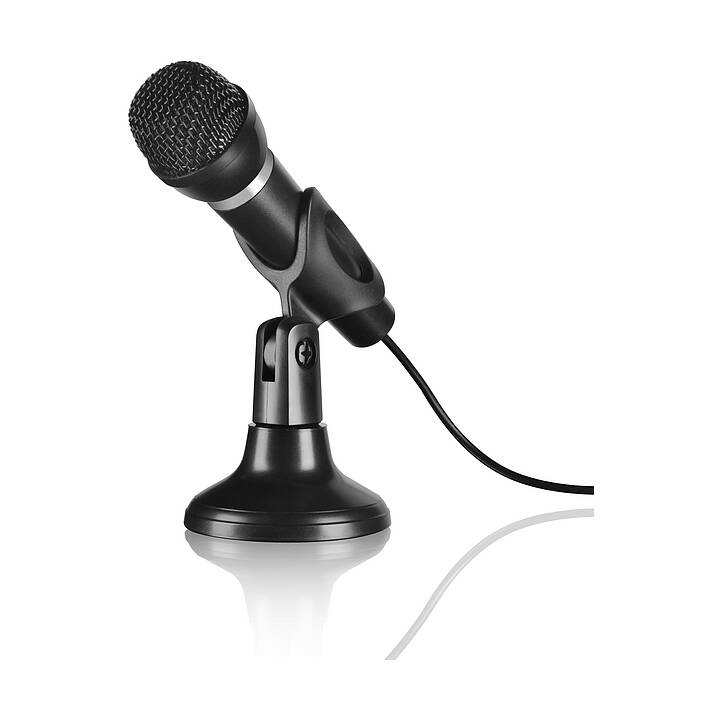 SPEEDLINK Microfono da tavolo nero