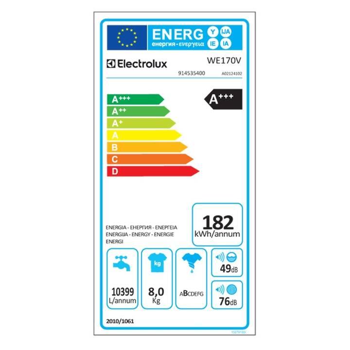 ELECTROLUX WE170V (8 kg)