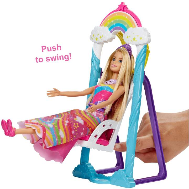 BARBIE Principessa Swing & Doll Principessa BARBIE