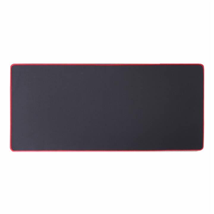 EG HUADO Tapis de souris 1000 x 500mm - Black_Red Edge