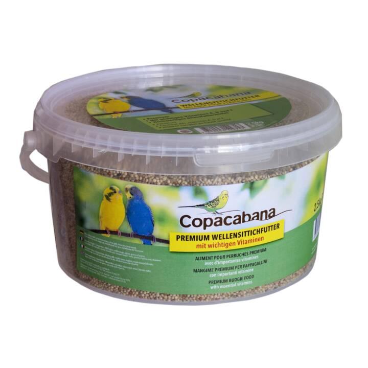 COPACABANA Nourriture pour perruches Premium (2.5 kg)