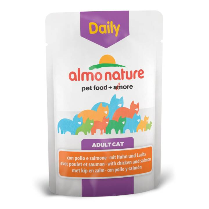 ALMO NATURE Daily (Adult, 70 g, Lachs, Huhn)