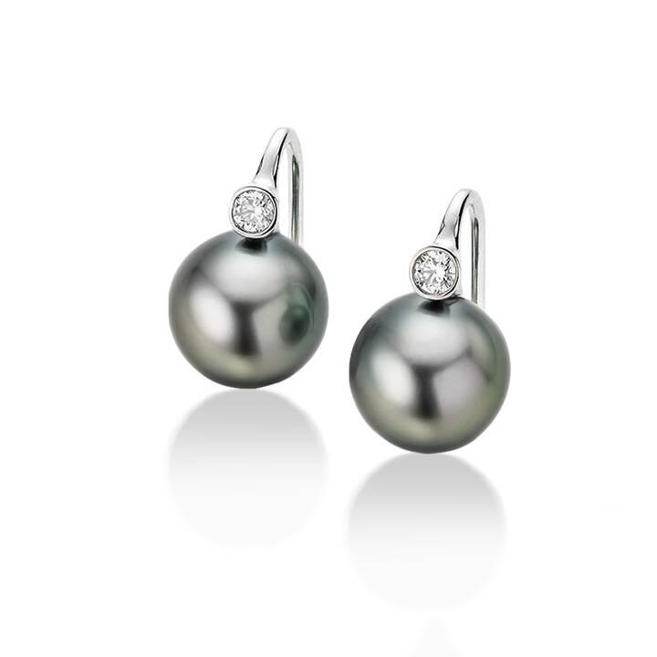 MUAU Pendants d'oreille (Diamant, Perle)