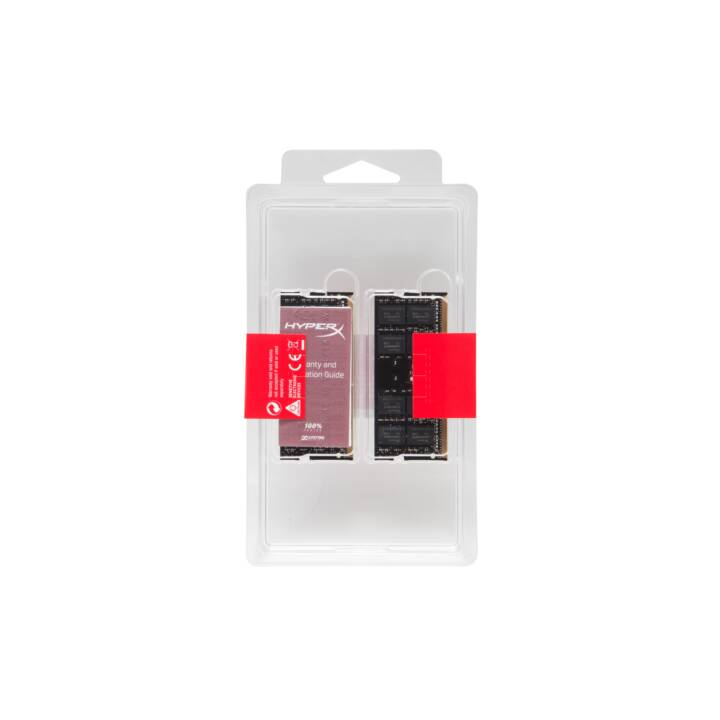 HYPERX Impact (2 x 8 GB, DDR4-SDRAM, SO-DIMM 260-Pin)
